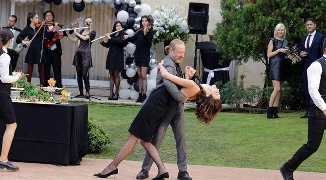 Akıncı'daki Dans sahnesi için özel eğitim aldılar