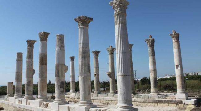 Deniz Suyu Çekildi, Mezitli'de Antik Kent Açığa Çıktı