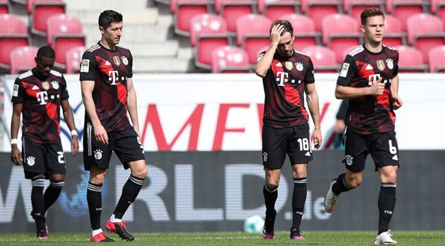 Bayern Münih şampiyonluk yolunda Mainz 05'e takıldı