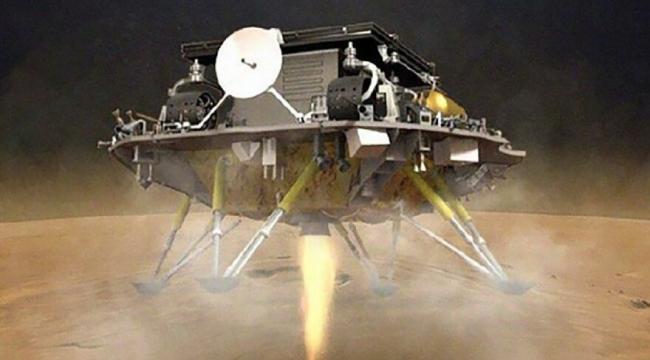 Çin ABD'nin ardından Mars'a araç indire ikinci ülke oldu