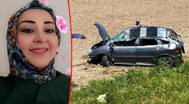 Eskişehir'de korkunç kaza! Takla atan araçtaki 41 yaşındaki kadın yaşamını yitirdi