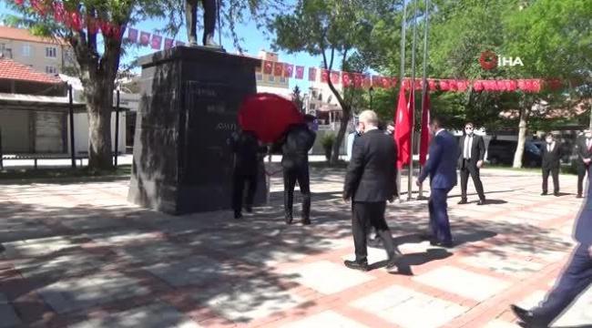 Karaman'da 744. Türk Dil Bayramı kapsamında tören gerçekleştirildi