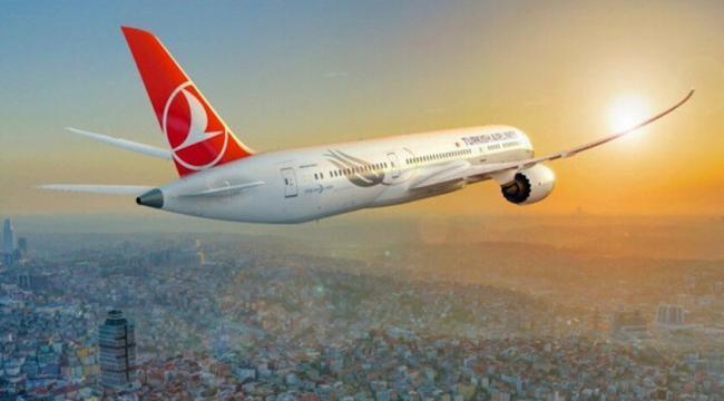 Türk Hava Yolları 14 ay sonra Gence'ye ilk seferini düzenledi