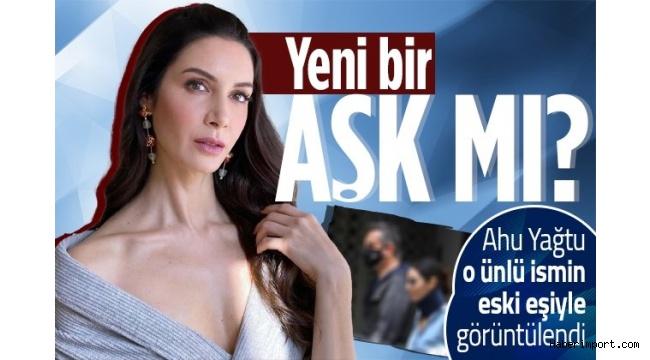 Ahu Yağtu, Hande Subaşı'nın eski eşiyle objektiflere yakalandı!