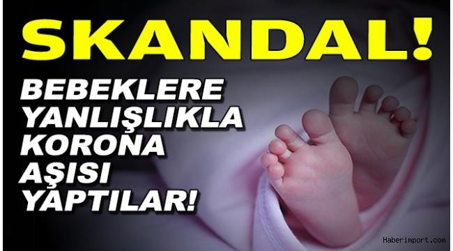 İzmir'de bebeklere koronavirüs aşısı yapıldı iddiası? Yetkililerden flaş açıklama!