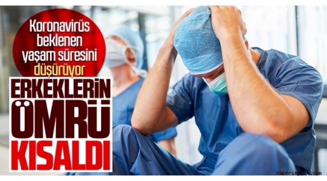 Koronavirüs, erkeklerin ömrünü 2.2 yıl kısalttı!