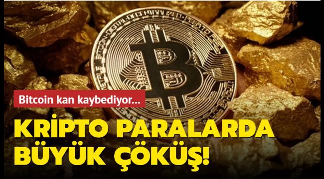 Kripto para piyasasında büyük çöküş! Bitcoin 40 bin dolara geriledi..