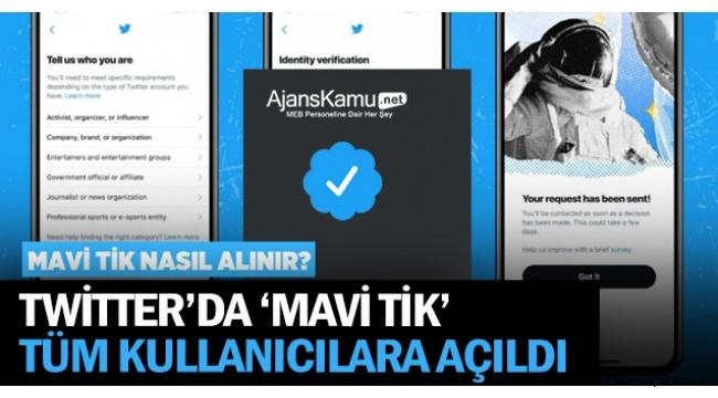 Twitter, mavi onay rozeti akışını yeniden başlattı