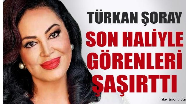 Yeşilçam'ın sultanı bir deri bir kemik! Türkan Şoray'ın son hali şaşkına çevirdi..