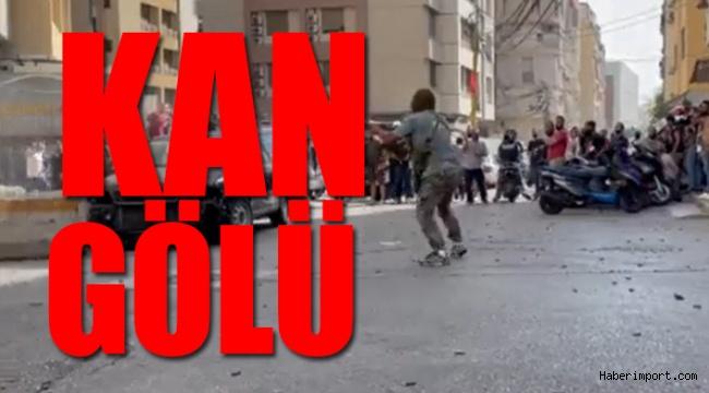 Beyrut sokakları karıştı! Göstericiler ateş hattında..