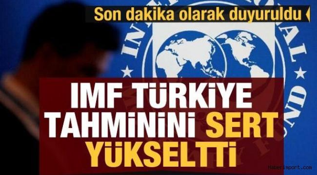 IMF, Türkiye ekonomisinde büyüme tahminini yükselişte gösterdi