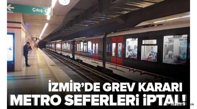 İzmir'de metro ve tramvay çalışanları 22 Ekim'de greve gidiyor!
