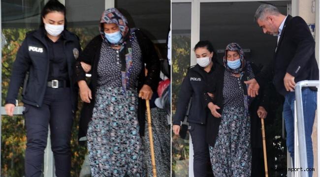 Kayseri'de hakkında 4 yıl hapis cezası olan 67 yaşındaki kadın yakalandı