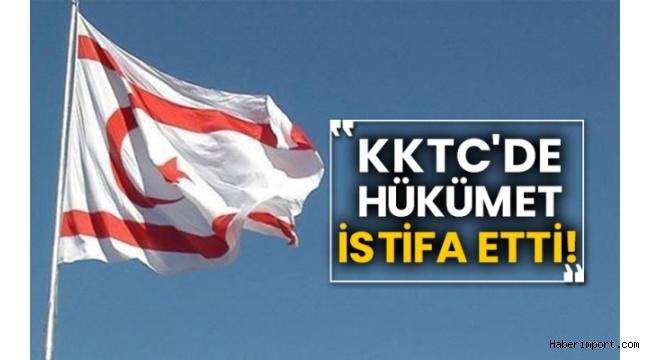 KKTC'de Başbakan Saner, hükûmetin istifasını Cumhurbaşkanına sundu!